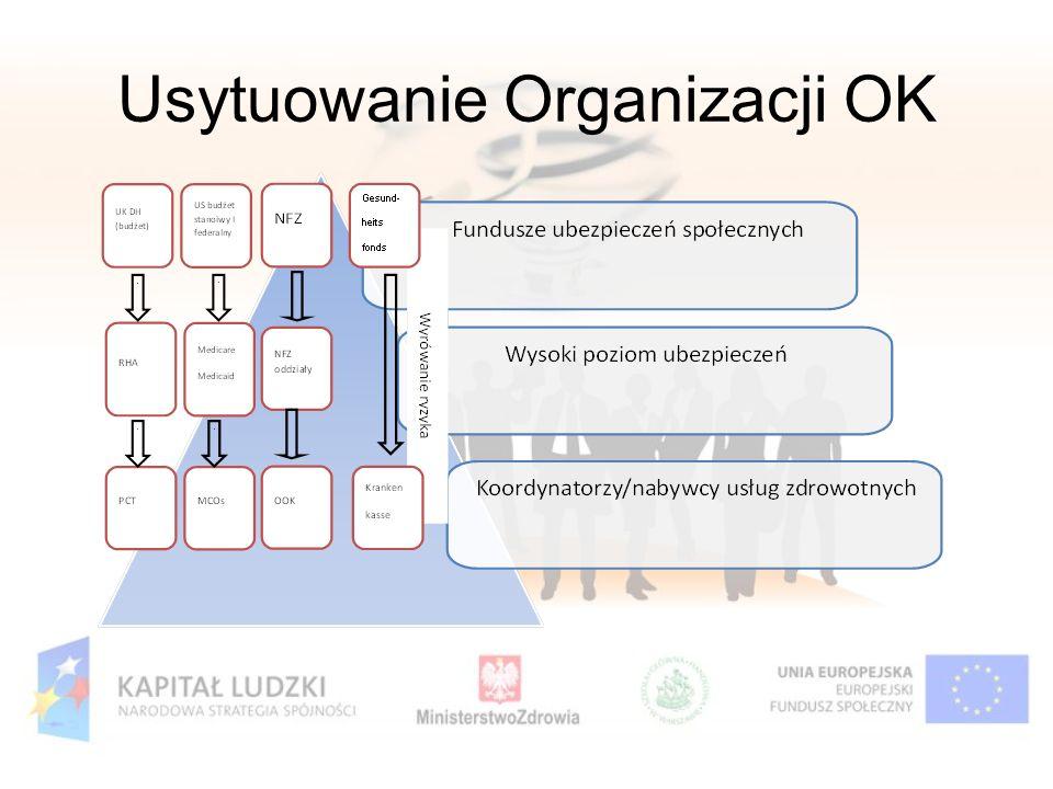 Usytuowanie Organizacji OK