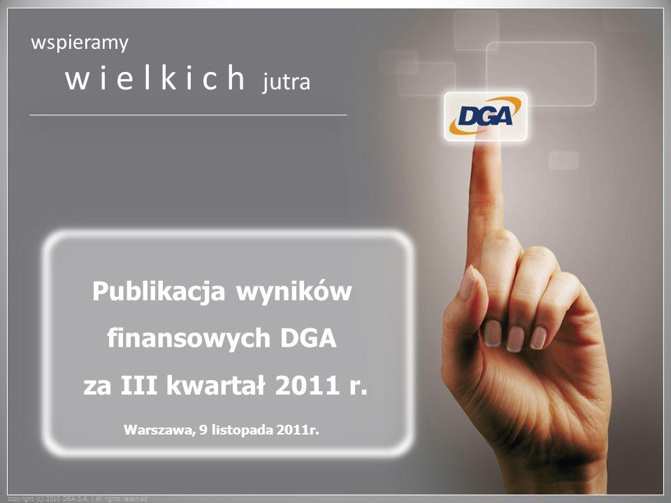 wspieramy w i e l k i c h jutra copyright (c) 2010 DGA S.A.