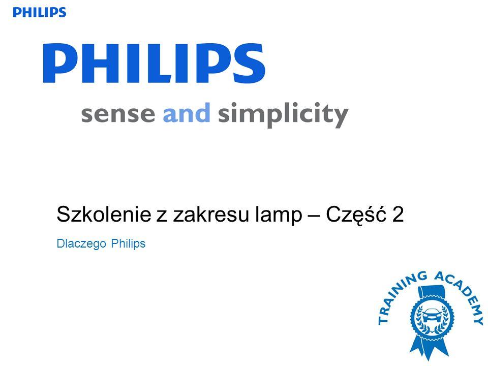 Szkolenie z zakresu lamp – Część 2 Dlaczego Philips