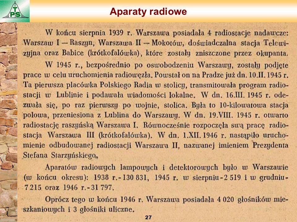 Aparaty radiowe 27