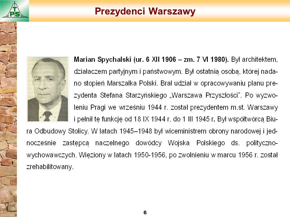 Prezydenci Warszawy 6