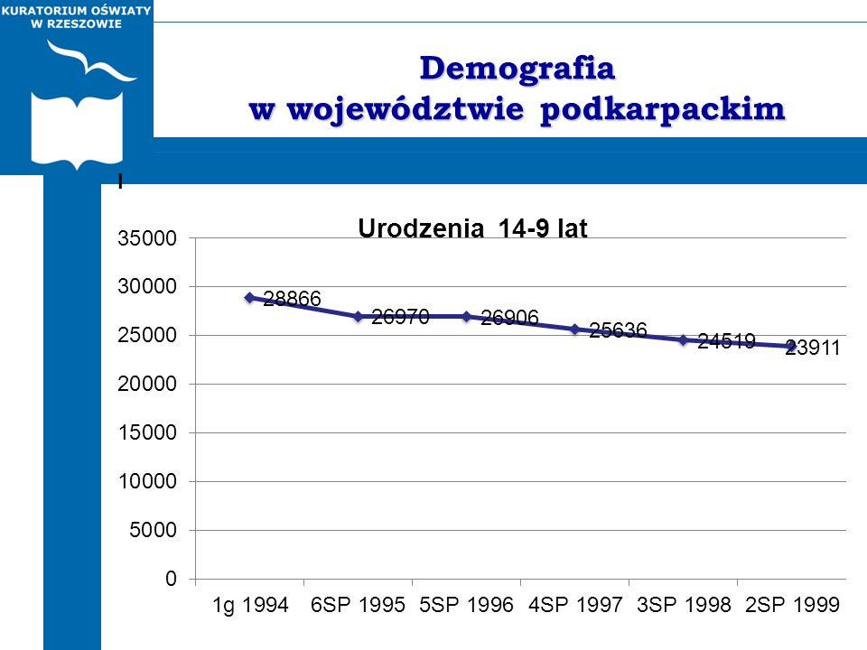 Demografia w województwie podkarpackim I