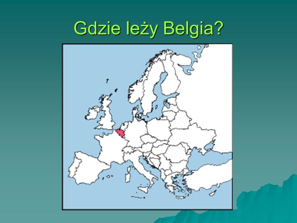 Gdzie leży Belgia?