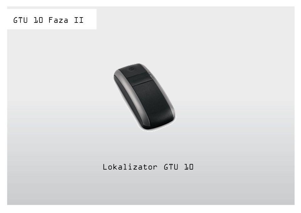 Lokalizator GTU 10 GTU 10 Faza II