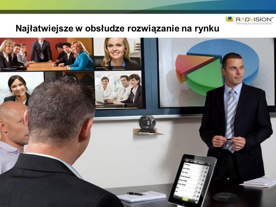 Scopia management – zarządzanie całą infrastrukturą wideokonferencyjną z jednego miejsca.