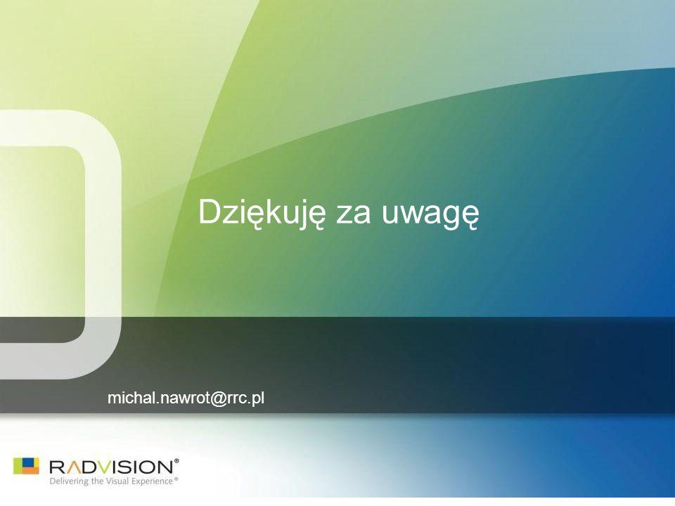 michal.nawrot@rrc.pl Dziękuję za uwagę
