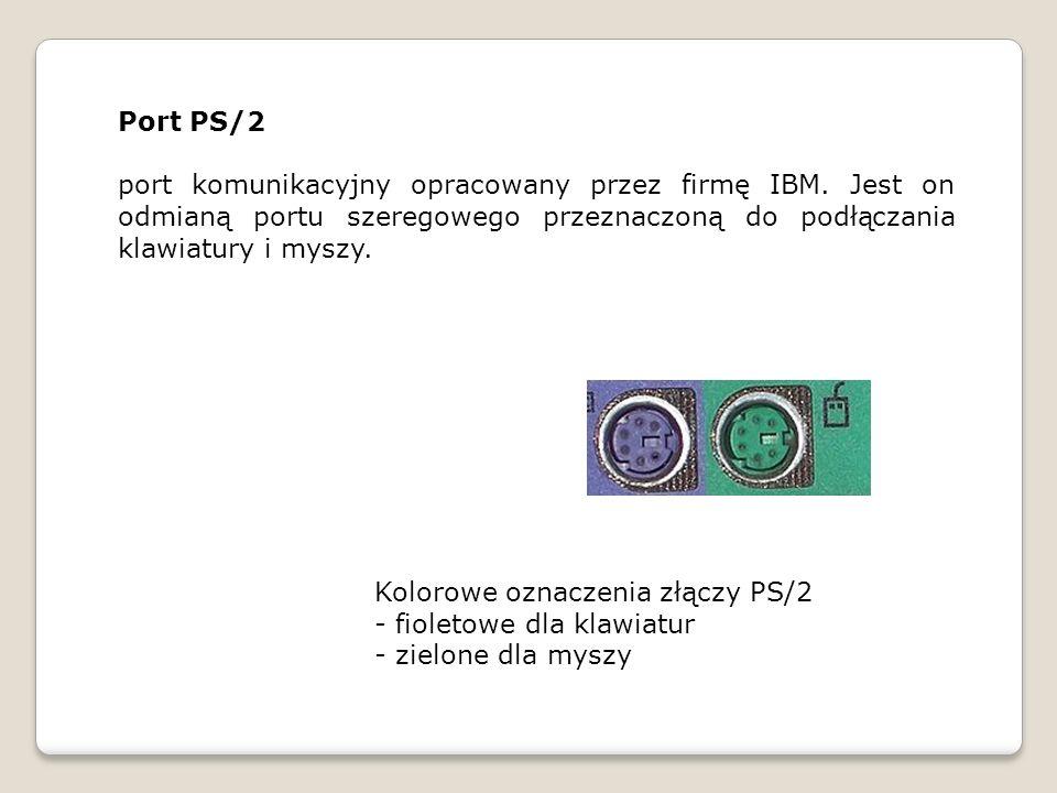Przejściówki PS/2 na USB LPT na USB