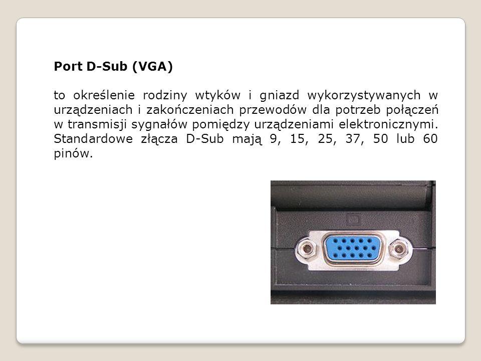 Port DVI DVI (ang.