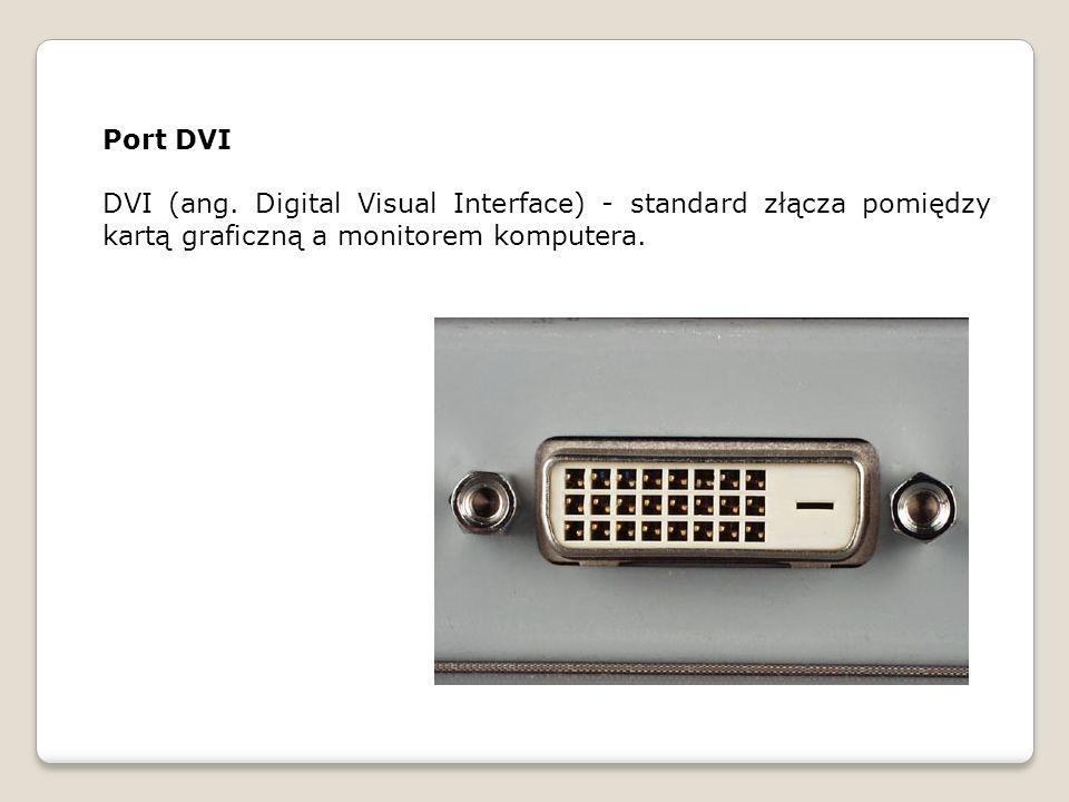 Złącze DVI występuje w 3 wariantach: DVI-I - przesyła zarówno dane cyfrowe jak i analogowe.