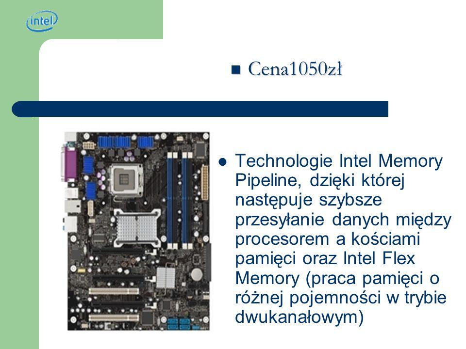 Intel Pentium D 820 (S775) 2.80 GHz (2x1MB cache) BOX Bardzo szybki i niezawodny procesor wykonany w technologii Smithfield (0.09) 2 rdzenie Rozszerzone możliwości pracy wielozadaniowej Taktowanie 2 800 MHz Pamięć cache L2 2048 Kb Cena 1000zł Cena 1000zł