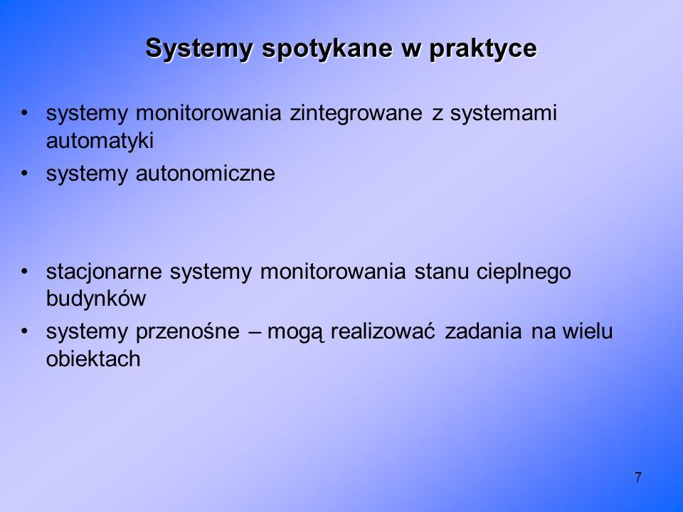 7 systemy monitorowania zintegrowane z systemami automatyki systemy autonomiczne stacjonarne systemy monitorowania stanu cieplnego budynków systemy pr