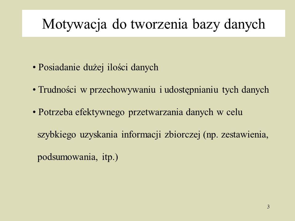 24 Przykład realizacji związku Tabela pracownicy ImięNazwiskoTytułInst.