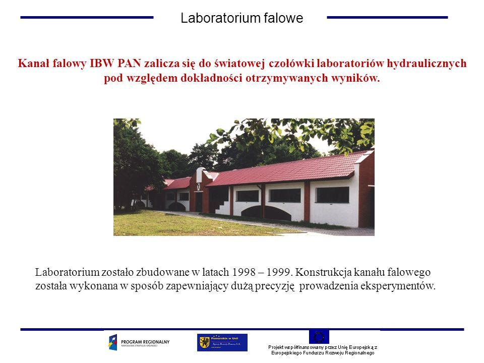 Kanał falowy IBW PAN zalicza się do światowej czołówki laboratoriów hydraulicznych pod względem dokładności otrzymywanych wyników. Laboratorium został