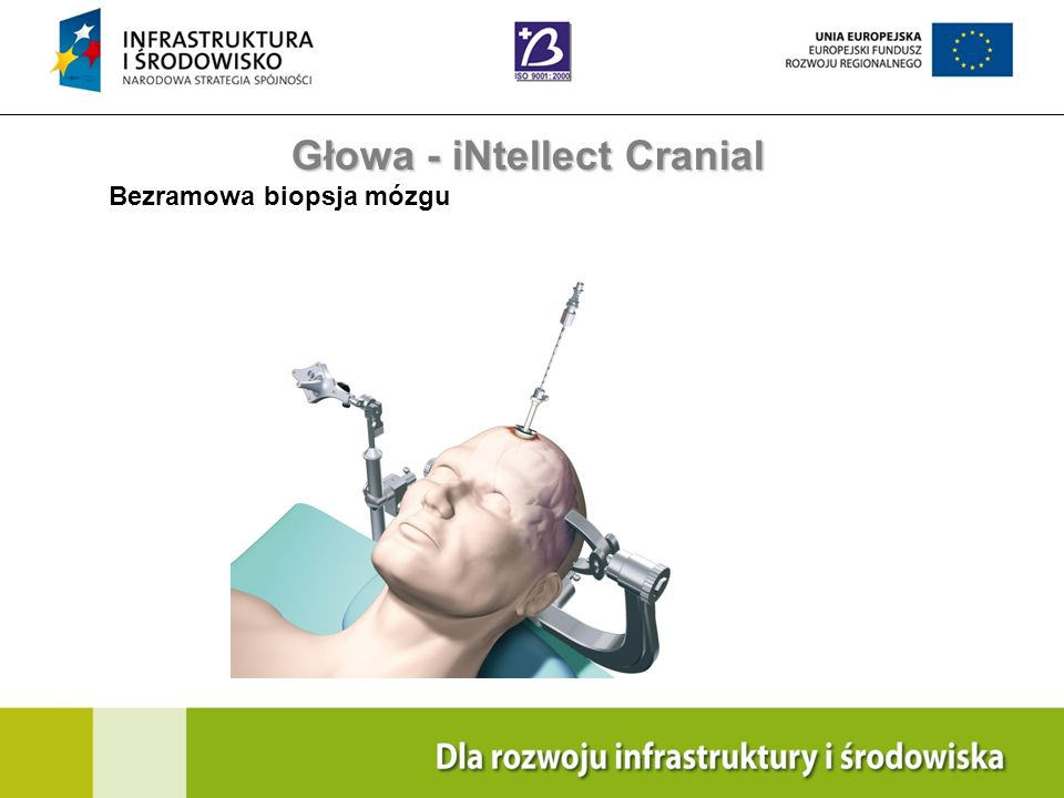 Navigation Training & Education Internal Use Only Głowa - iNtellect Cranial Bezramowa biopsja mózgu