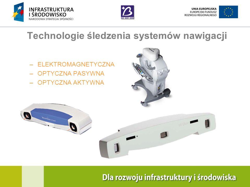 Navigation Training & Education Internal Use Only Technologie śledzenia systemów nawigacji –ELEKTROMAGNETYCZNA –OPTYCZNA PASYWNA –OPTYCZNA AKTYWNA