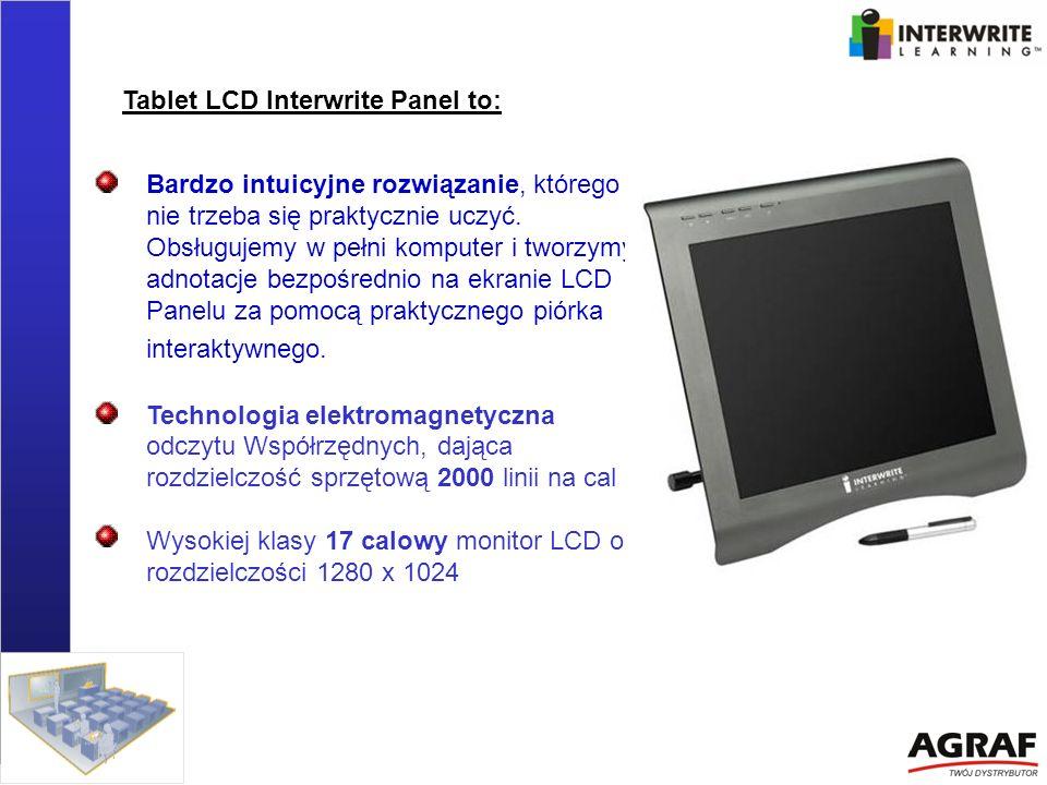 Tablet LCD Interwrite Panel to: Bardzo intuicyjne rozwiązanie, którego nie trzeba się praktycznie uczyć. Obsługujemy w pełni komputer i tworzymy adnot