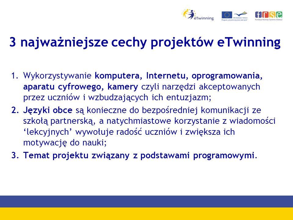 1 miejsce Kategoria wiekowa 7 – 12 lat Nasz projekt eTwinning – VII edycja 2011 Zespół Szkół im.