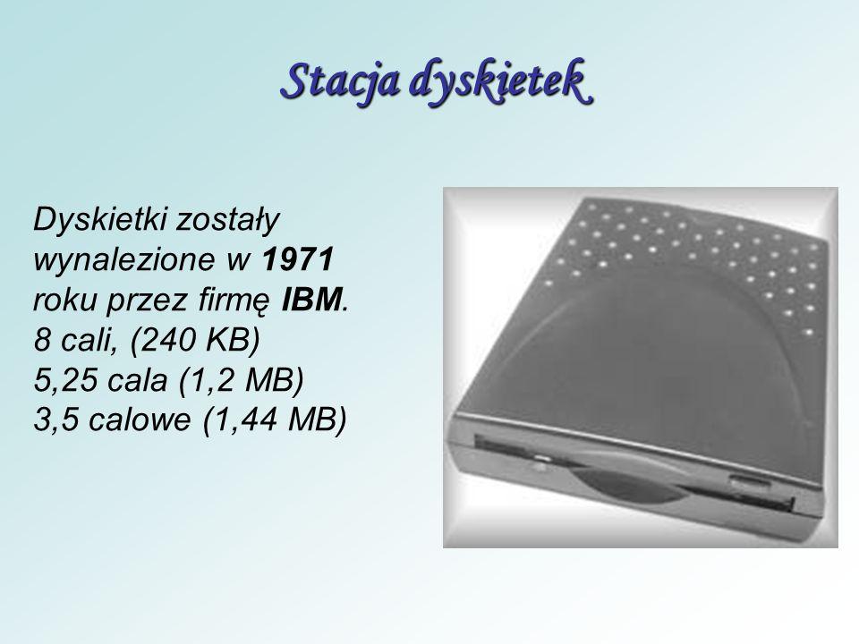 Dysk twardy - przechowuje wszystkie dane (np. system operacyjny, programy, gry, dokumenty, filmy itp.) pozwala zapisywać, przechowywać przez dłuższy c