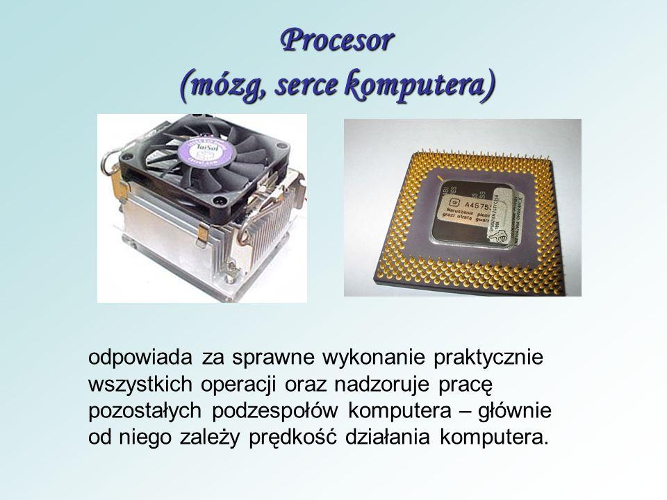 BIOS - odpowiada za prawidłowy start komputera zapisany jest w pamięci stałej typu ROM (Read Only Memory) – to zbiór programów odpowiedzialnych za pra
