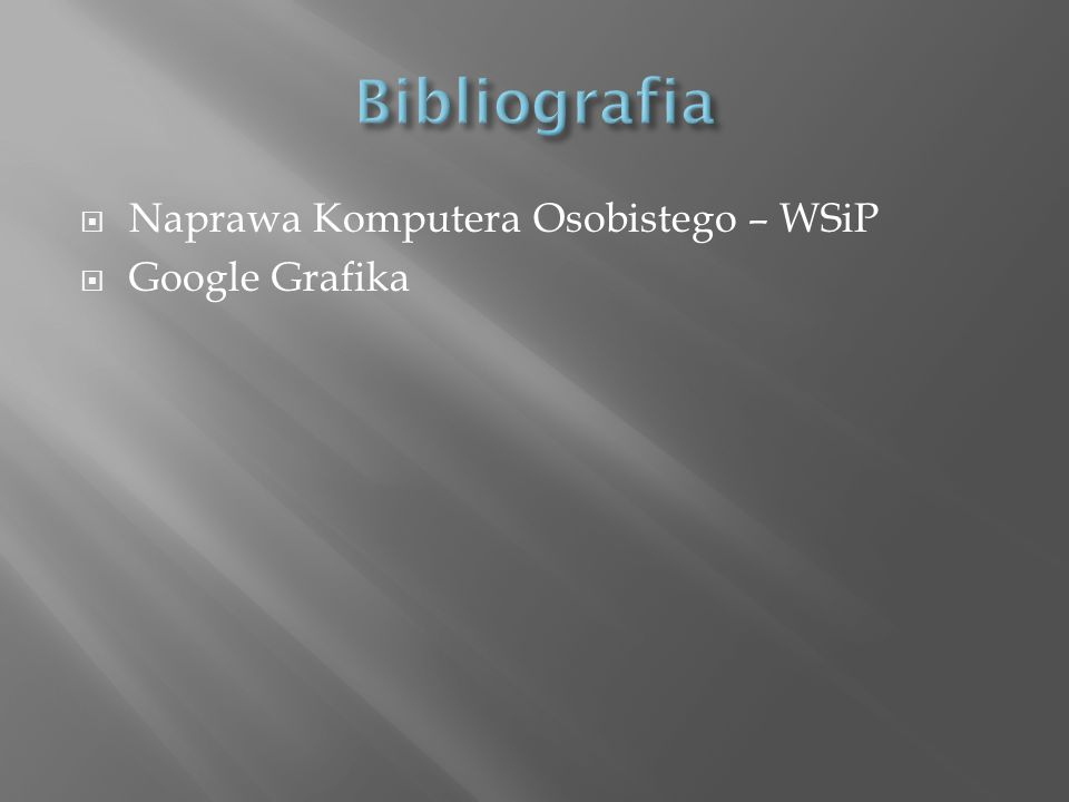 Naprawa Komputera Osobistego – WSiP Google Grafika