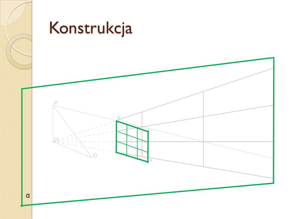 Konstrukcja α