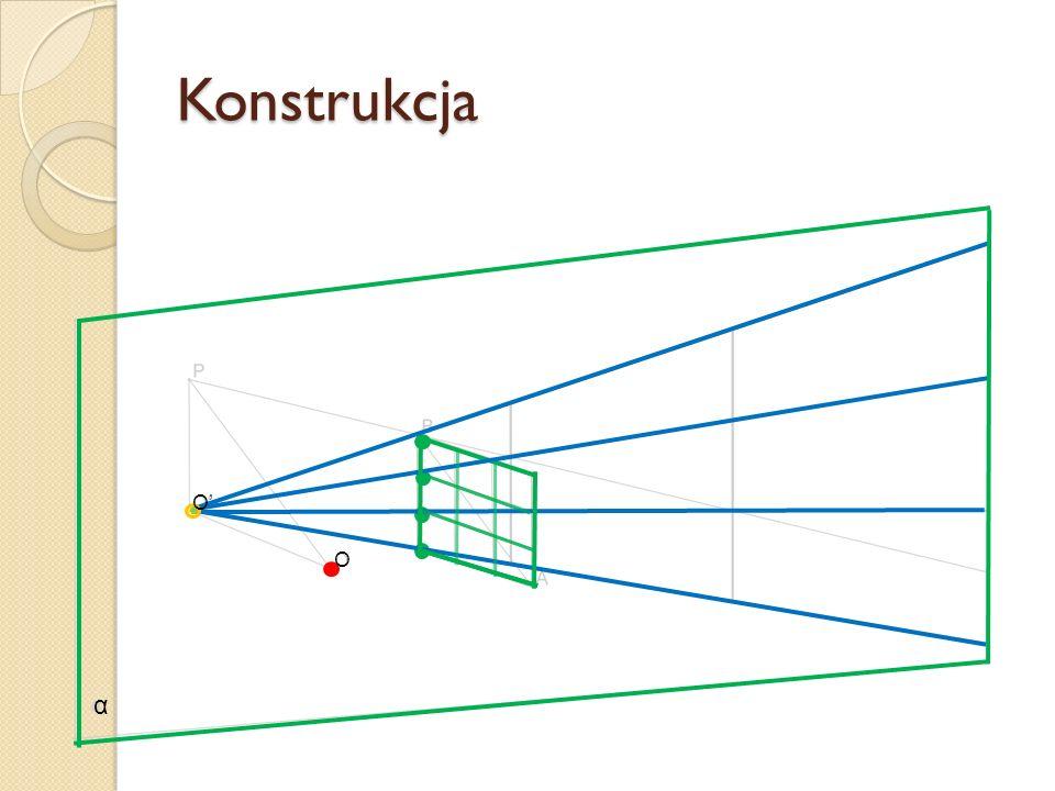 Konstrukcja α O O