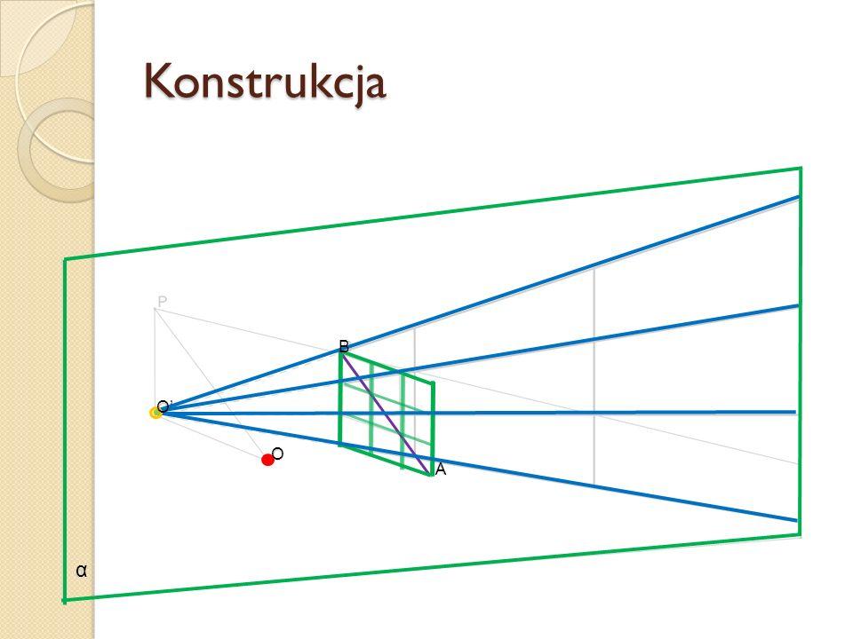 Konstrukcja α O O A B