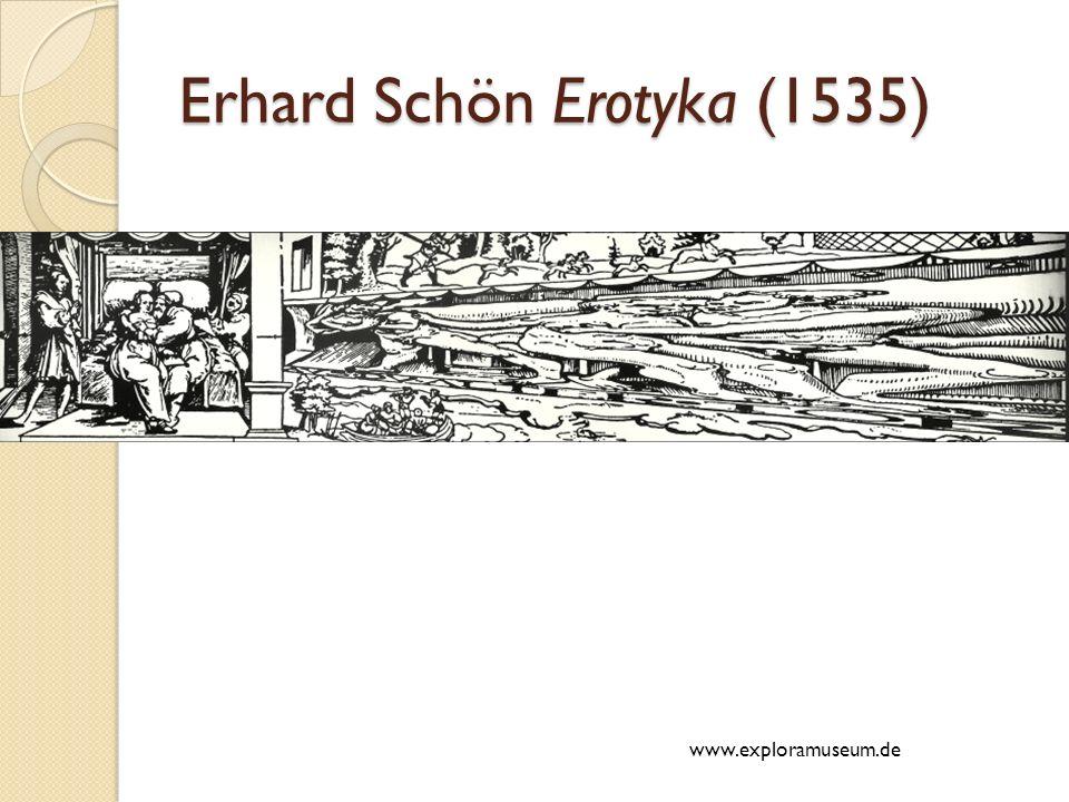 Erhard Schön Erotyka (1535) www.exploramuseum.de
