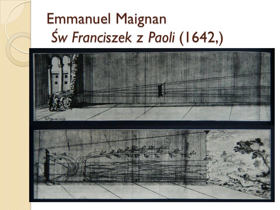 Emmanuel Maignan Św Franciszek z Paoli (1642,)