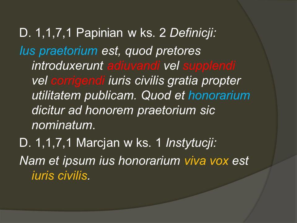 D.1,1,7,1 Papinian w ks.