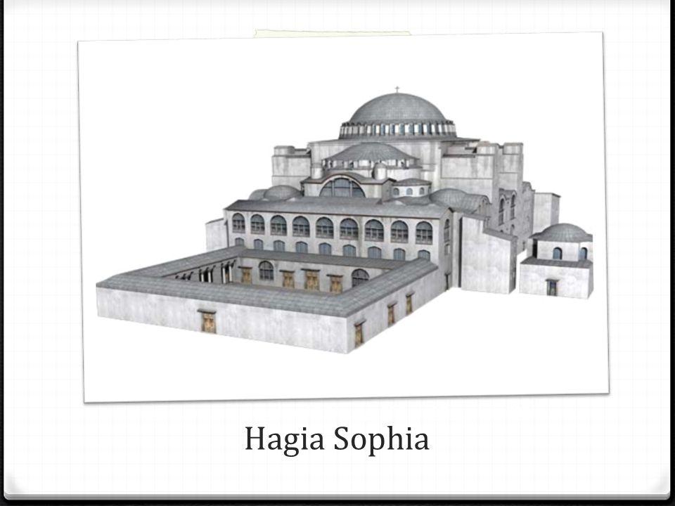 Hagia Sophia powstawała w okresie od 23 lutego 532 do 27 grudnia 537