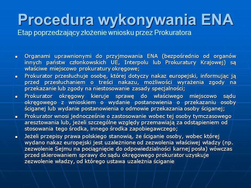 Wnioski prokuratora o odmowę przekazanie osób kierowane do sądów okręgowych w latach 2005 - 2007 Aspekt graficzny