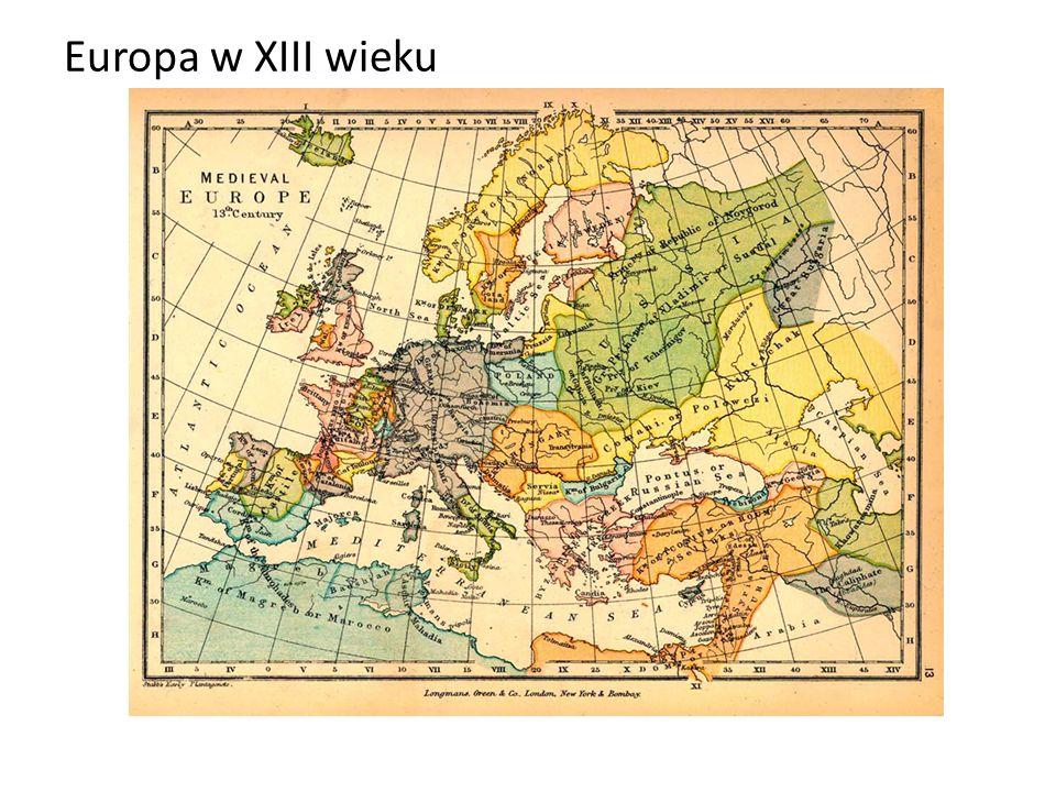 Europa w XIII wieku