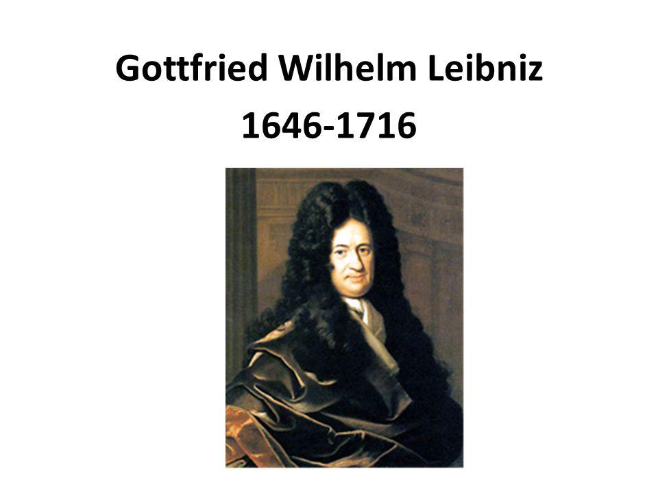 Główne dzieła: De arte combinatoria, 1666 Wyznanie wiary filozofa Rozprawa metafizyczna, 1686 Teodycea.
