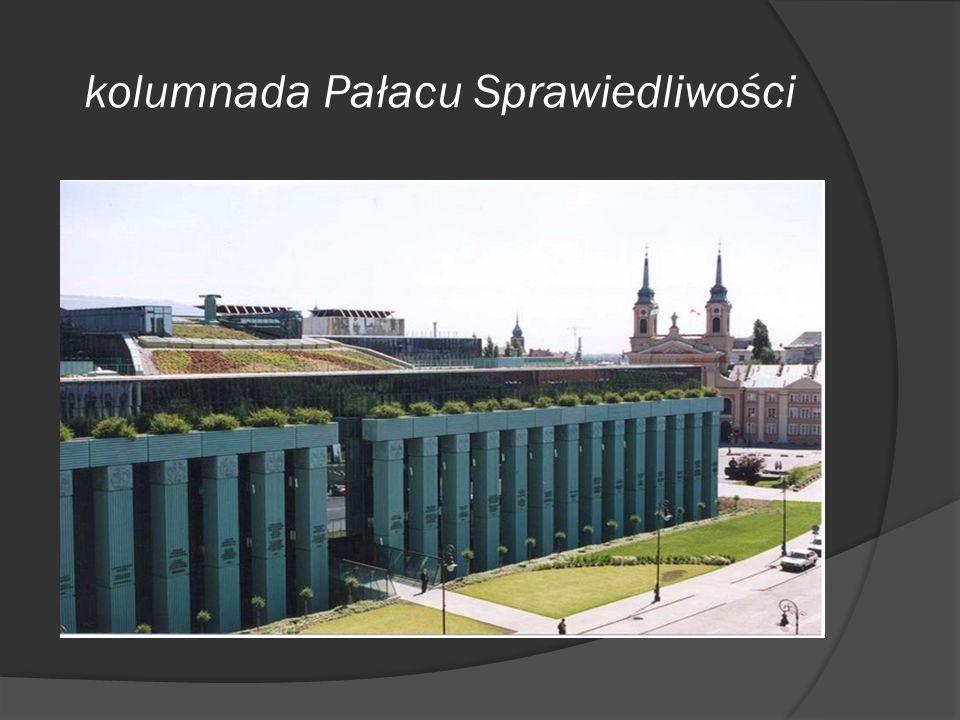 kolumnada Pałacu Sprawiedliwości
