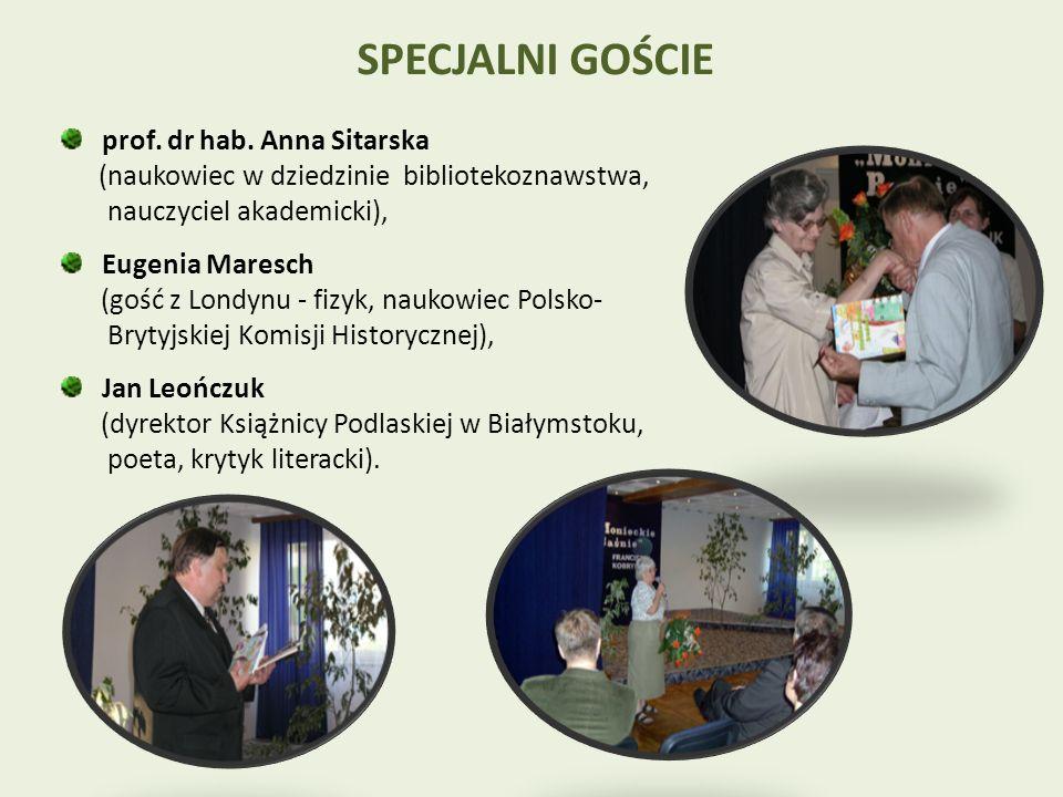 SPECJALNI GOŚCIE prof. dr hab.