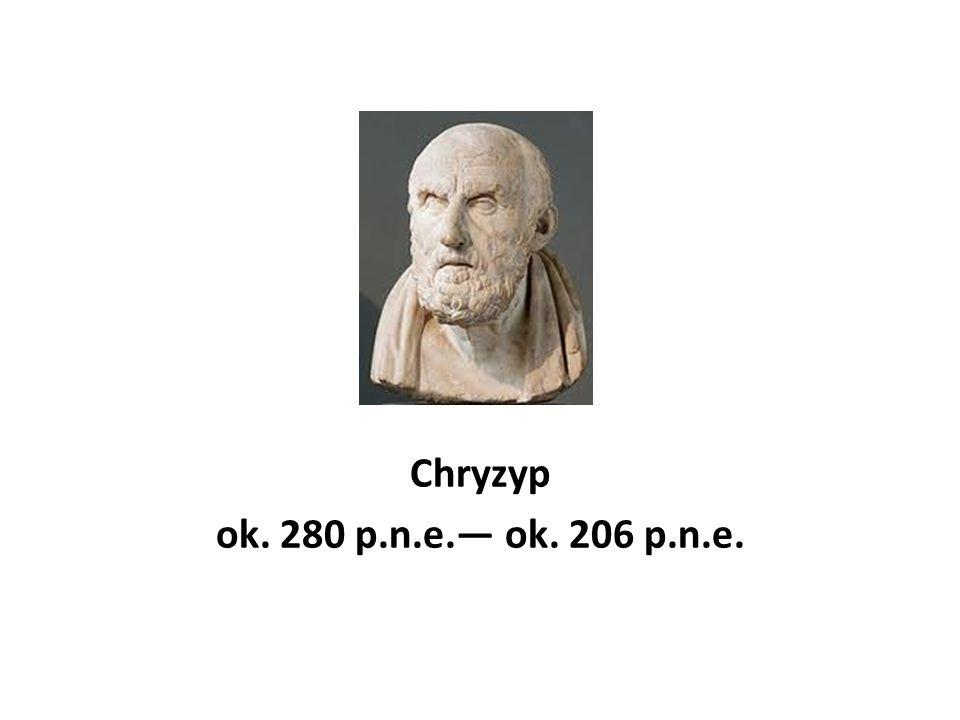 Chryzyp ok. 280 p.n.e. ok. 206 p.n.e.