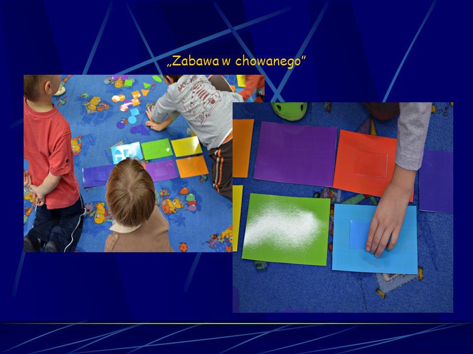 Matematyka sensoryczna Sesja 10 Zabawa w chowanego
