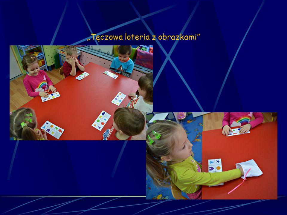Matematyka sensoryczna Sesja 12 Tęczowa loteria z obrazkami