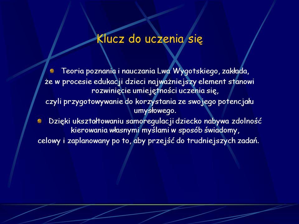 KLUCZ DO UCZENIA SIĘ jedyny w Polsce, kompletny, łatwy do wdrożenia, zmieniający wszystkie dzieci i nauczycieli z Gąsienic w piękne i mądre Motyle...