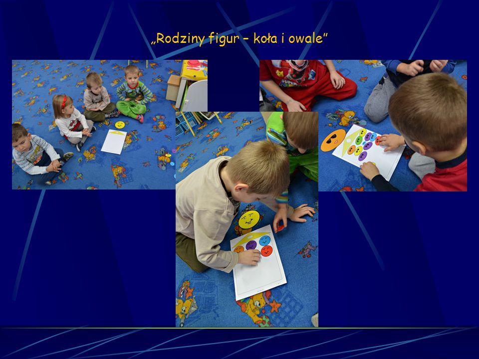 Matematyka sensoryczna Sesja 17 Rodziny figur – koła i owale