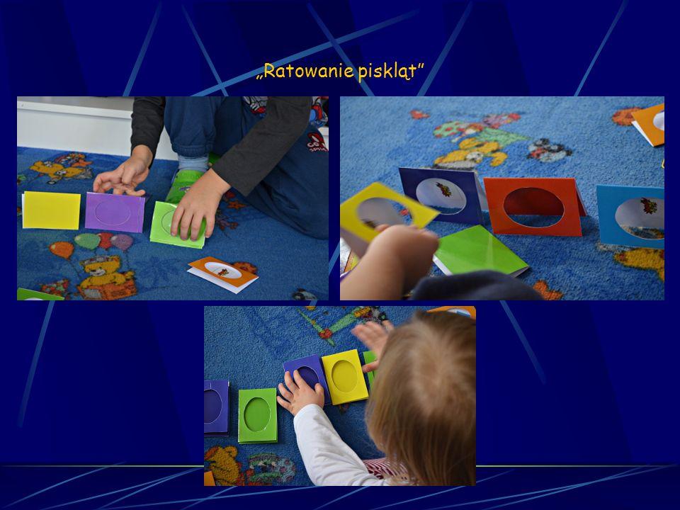 Matematyka sensoryczna Sesja 4 Ratowanie piskląt