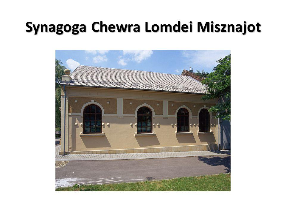 Synagoga Chewra Lomdei Misznajot