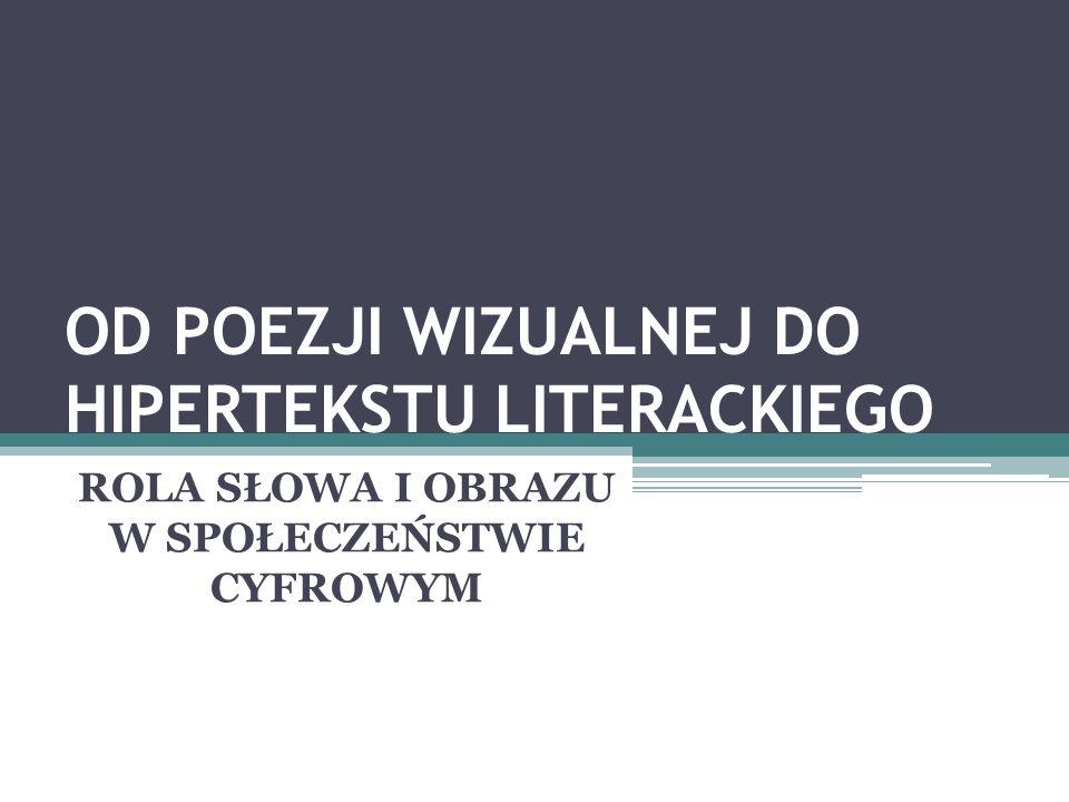 LIBERATURA Liberatura, od łacińskiego liber - książka, oznacza taki rodzaj literatury, dla której tworzywem jest nie tylko słowo, ale również jego fizyczny nośnik - pismo, ilustracja, fotografia, cała książka.