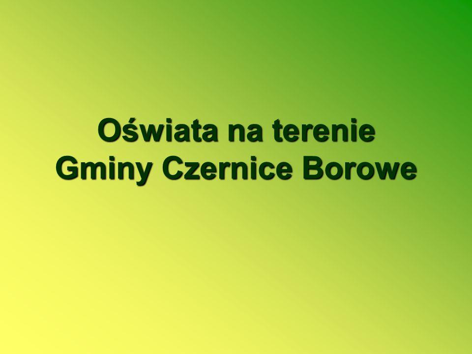 Oświata na terenie Gminy Czernice Borowe