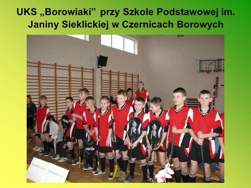 UKS Borowiaki przy Szkole Podstawowej im. Janiny Sieklickiej w Czernicach Borowych