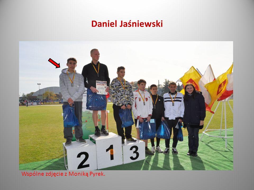 Daniel Jaśniewski III G Na podium!