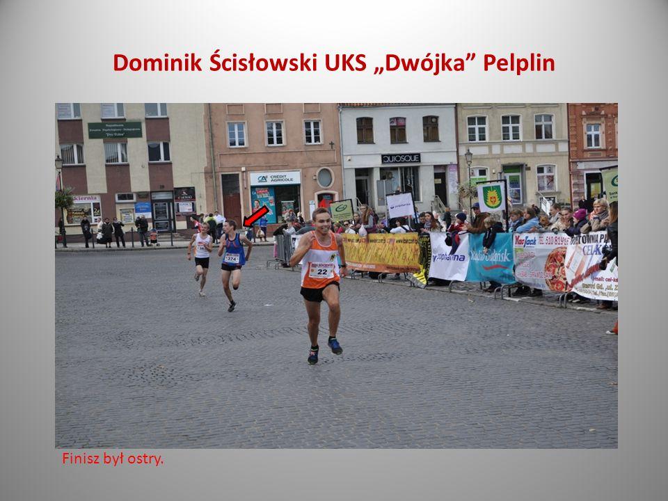 Dominik Ścisłowski absolwent ZS 2 Bieg na dystansie 10 kilometrów. IV miejsce w swojej kategorii, czas 36:32
