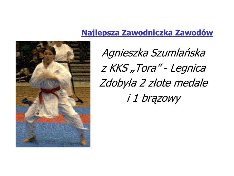 Najlepszy Zawodnik Zawodów Tomasz Semerga z Klubu Polonia-Torakan Biała Zdobył 3 złote medale