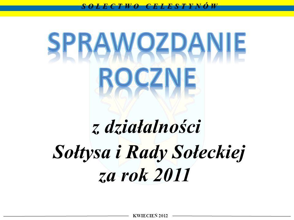 KWIECIEŃ 2012 SOŁECTWO CELESTYNÓW